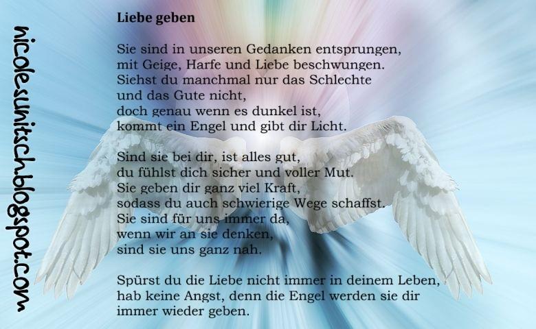 Gedichte Von Nicole Sunitsch Autorin Liebe Geben Aus Dem Buch