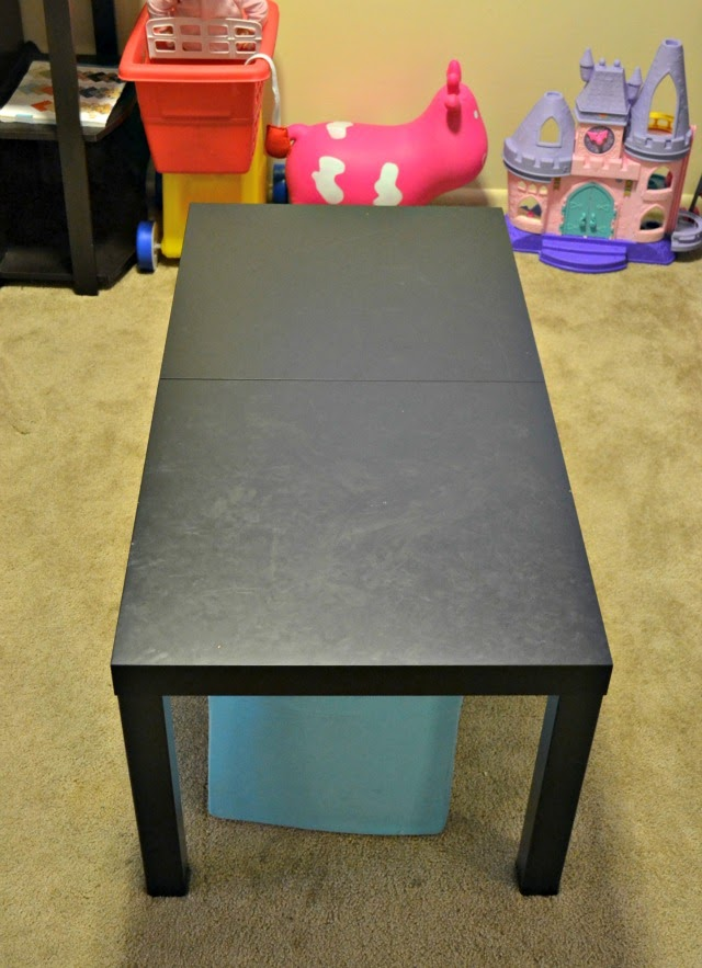 $20 Cheap and Easy Activity Table for the Playroom