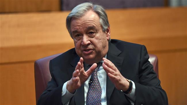 UN Secretary-General Antonio Guterres urges world to combat climate change