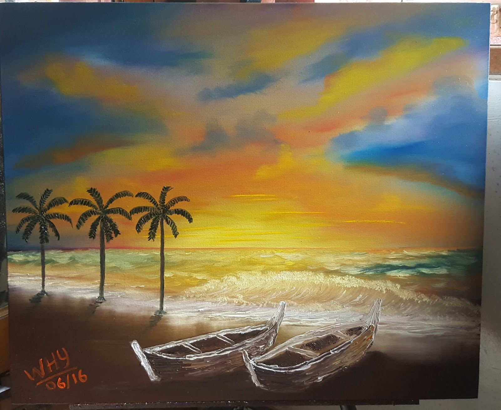 Galeri Lukisanku My Painting Gallery Agustus 2016