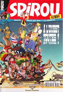 Spirou Hebdo, à l'ouest toutes !, numéro 3634, année 2007