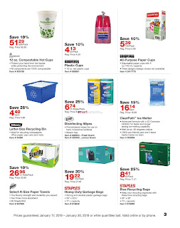 Staples Flyer January 17 – 30, 2018