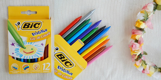 lápis para colorir livro