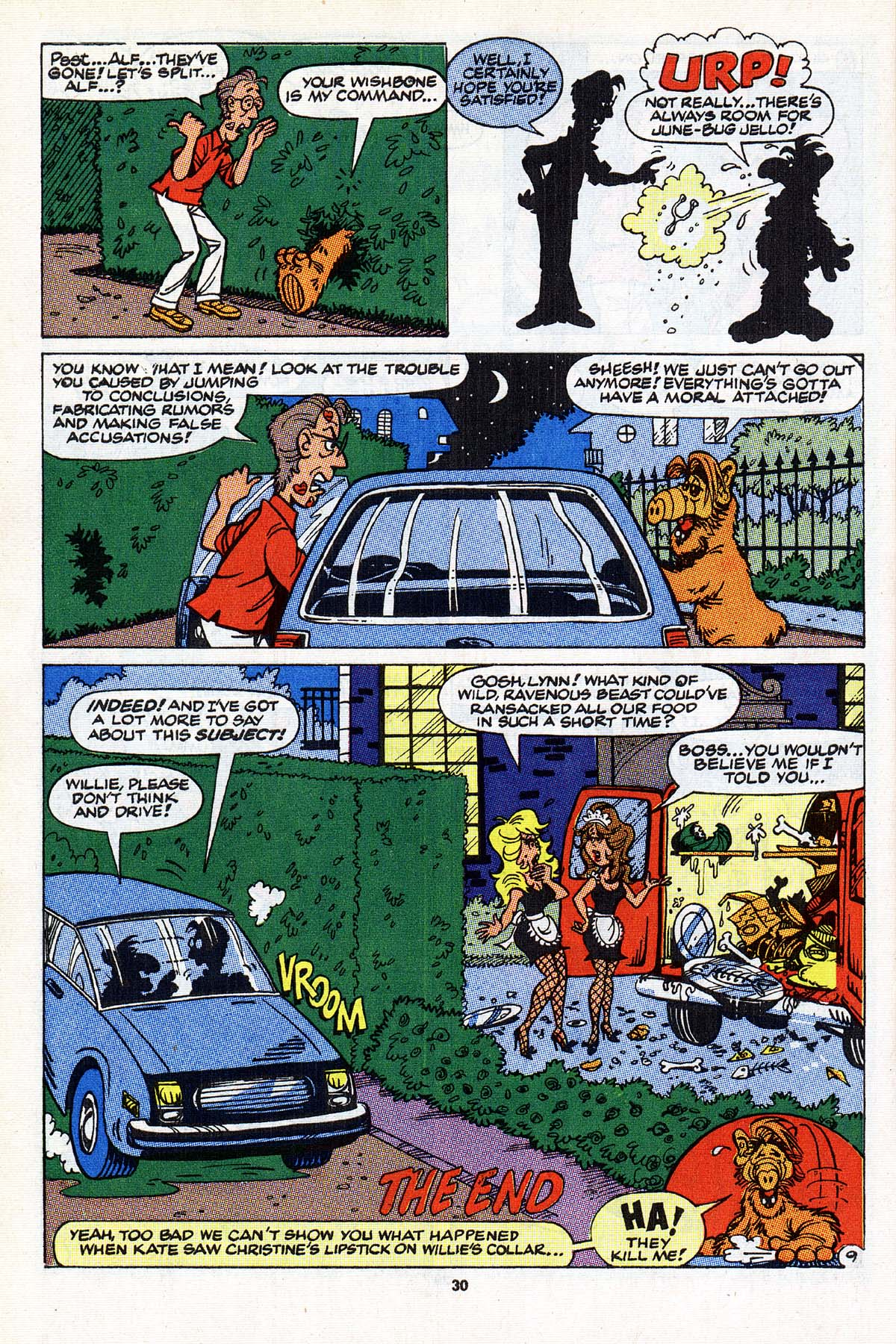 Read online ALF comic -  Issue #22 - 24