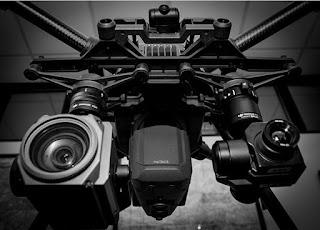 Long range zooming drone inspection Cilegon Serang Banten
