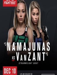 UFC FIGHT NIGHT 80 – NAMAJUNAS VS. VANZANT