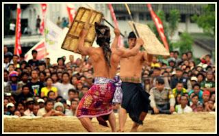 Peresean Kesenian Tradisional Dari Lombok, NTB