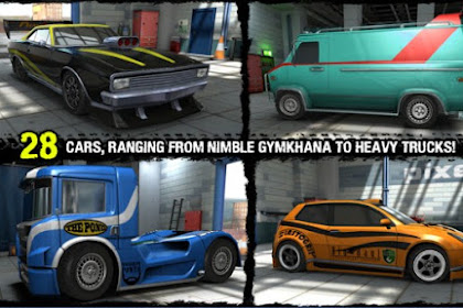 Reckless Racing 3 v1.2.1 Mod (Unlimited Money) Apk + Data Gratis Terbaru 2017