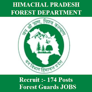 Himachal Pradesh Forest Department, HP Forest, 12th, Forest Guard, freejobalert, Sarkari Naukri, Latest Jobs, hp forest logo