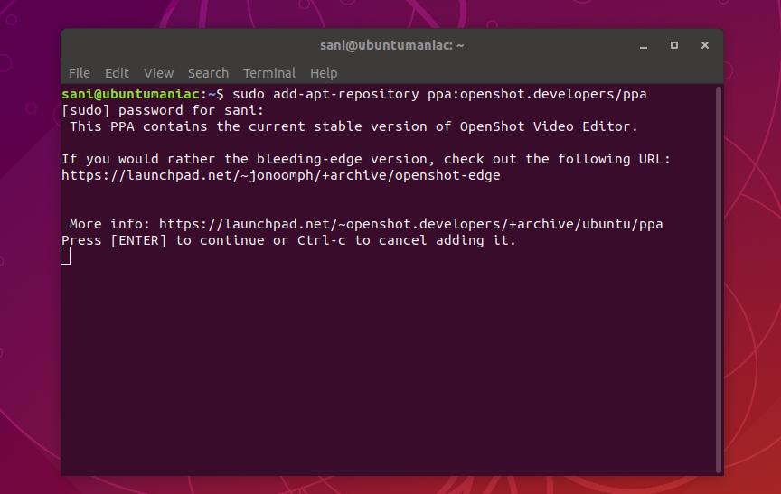 OpenShot Video Editor 2 4 4 Release, Install on Ubuntu