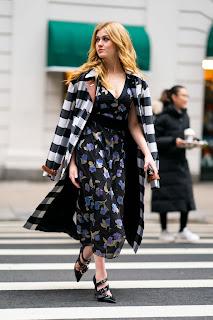 Katherine McNamara Classy Fashion In NYC