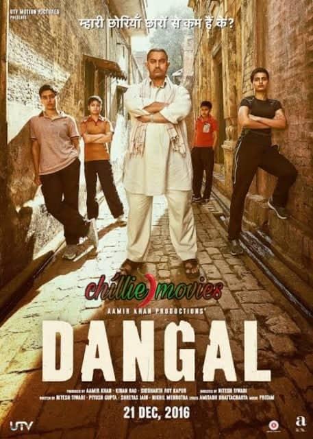 Dangal 2016 720p 916mb Chillie Movies