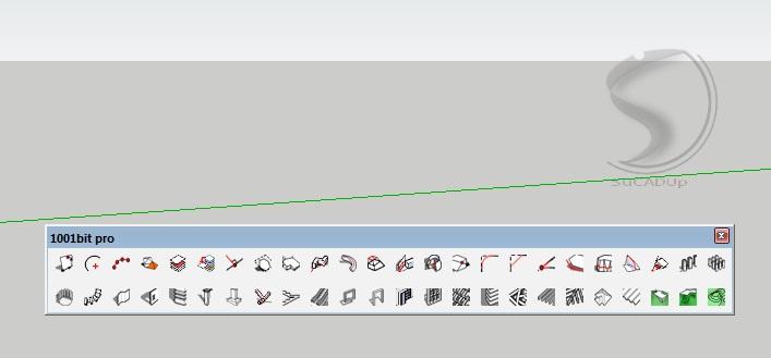 Cara Membuat Tangga menggunakan Plugins 1001 Bit - SuCADUp