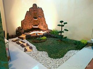 tebing dan taman minimalis