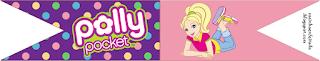 Kit para Fiesta de Cumpleaños de Polly Pocket para Imprimir Gratis.