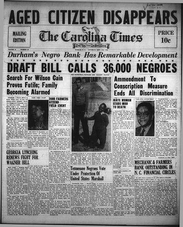 21 September 1940 worldwartwo.filminspector.com Carolina TImes