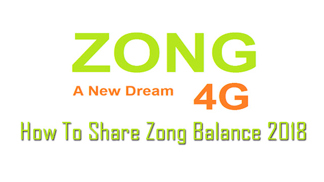 How-To-Zong-Balance-Share