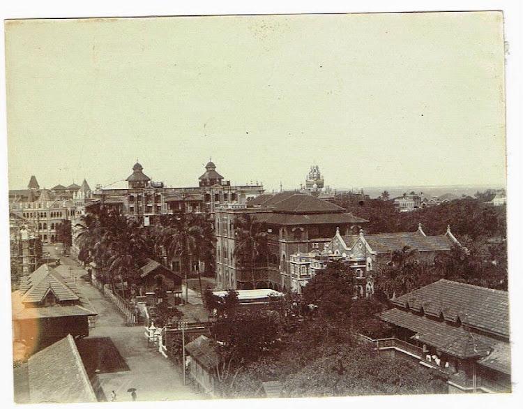 Bombay (Mumbai) Buildings c1905-10
