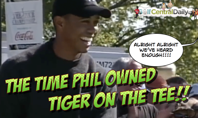 Tiger Woods GolfCentralDaily