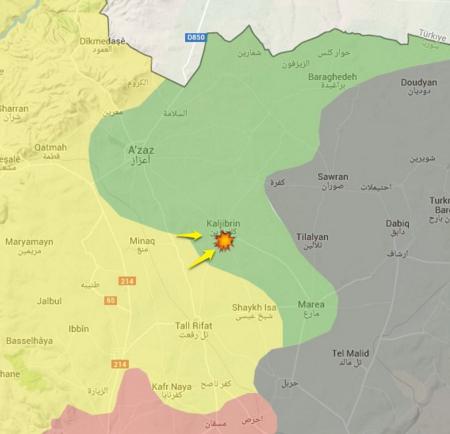 Kaljibrin-Aleppo-Suriah