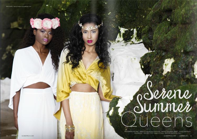 Glam Africa Summer Magazine