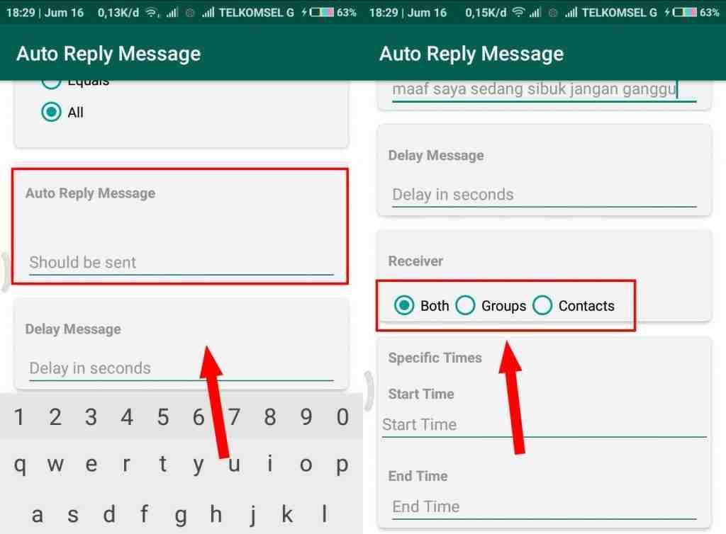 Cara Gampang Membuat Pesan Auto Reply WhatsappTanpa Root di Android 4