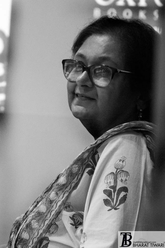 Namita Gokhle at the launch of Translating Bharat, Reading India at oxford book store