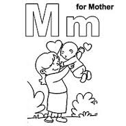 Letter M Coloring Page 11