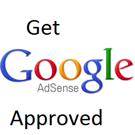 Get AdSense Account Approved