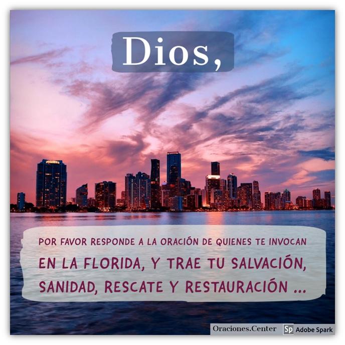 Padre Nuestro Oración - Por la Florida contra la Pandemia