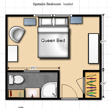 Here S A 3d View Of The Upstairs I Couldn T Make The