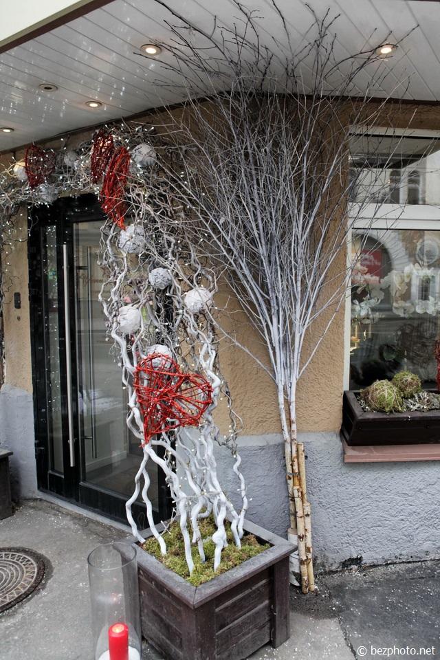 декор цветочного магазина