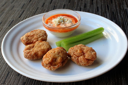 Buffalo Chicken Nuggets - Made from Parts, Not Pieces