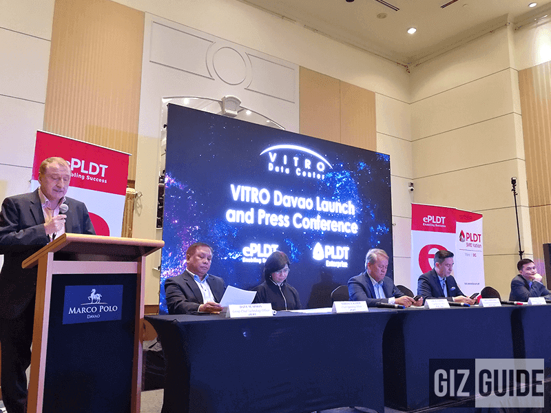 Ever since President Duterte won the Philippine election PLDT VITRO Davao Goes Official, The First Data Center In The Region