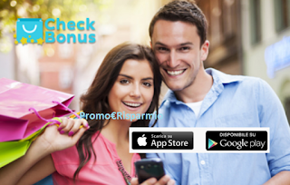 Logo Check Bonus: scarica l'App che ti premia con sconti, gift card e voucher