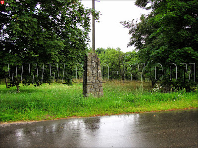 Ворота на кладбище немецких солдат Первой мировой войны