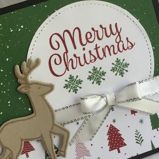 Santa's Sleigh creates this cute deer