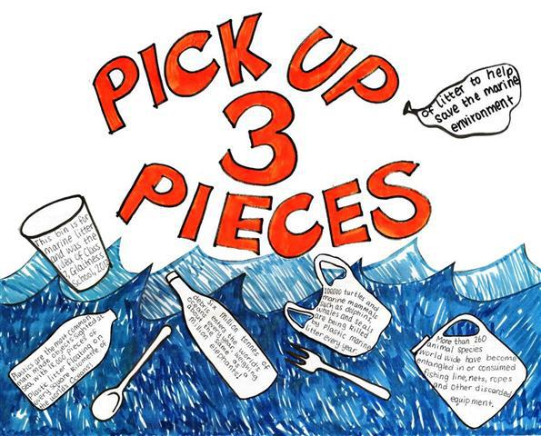Pick Up Three Pieces blog