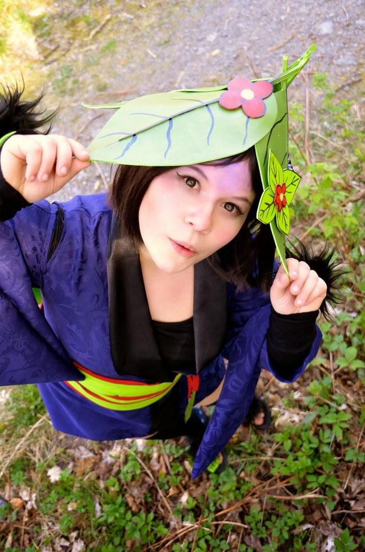 Pokemon Cosplay: Pretty Pokemon Gijinka Oddish Cosplay Girls
