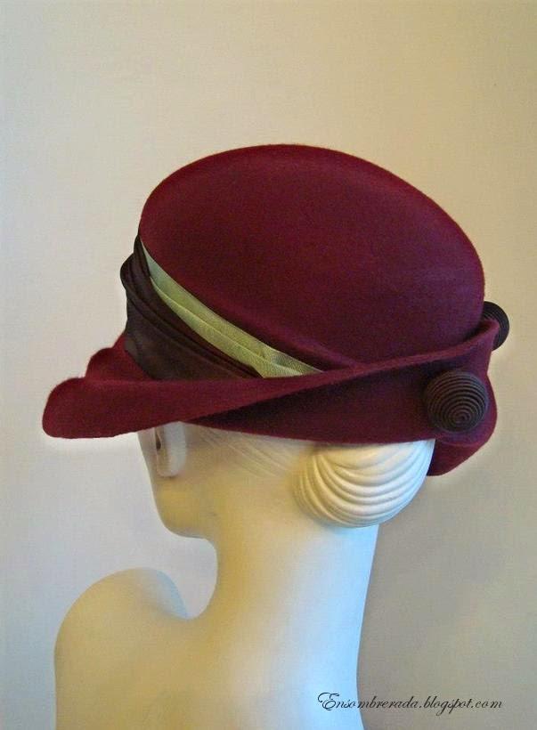 f06b169ee2f91 Sombrero estilo vintage