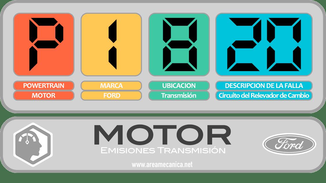 CODIGOS DE FALLA: Ford (P1800-P18FF) Motor | OBD2 | DTC