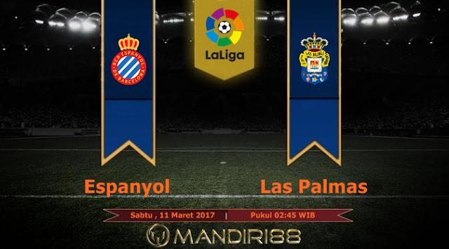 Prediksi Bola : Espanyol Vs Las Palmas , Sabtu 11 Maret 2017 Pkl 02.45 WIB