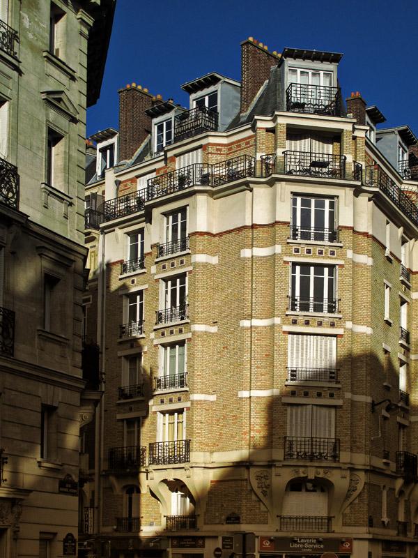 Apartment block in light and shadow, Dupleix, Paris. Photos by Kent Johnson for Street Fashion Sydney. Paris photos by Kent Johnson for Street Fashion Sydney.