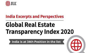 11th Global Real Estate Transparency Index 2020