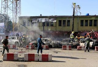 Deadly blast hits eastern Afghan city again
