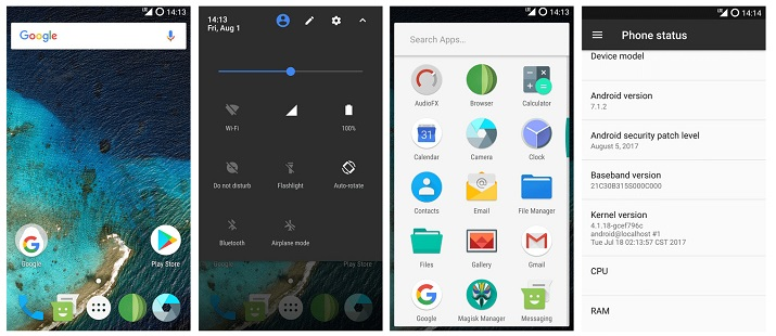 Install Resurrection Remix 5 8 3 [Android Nougat 7 1 2