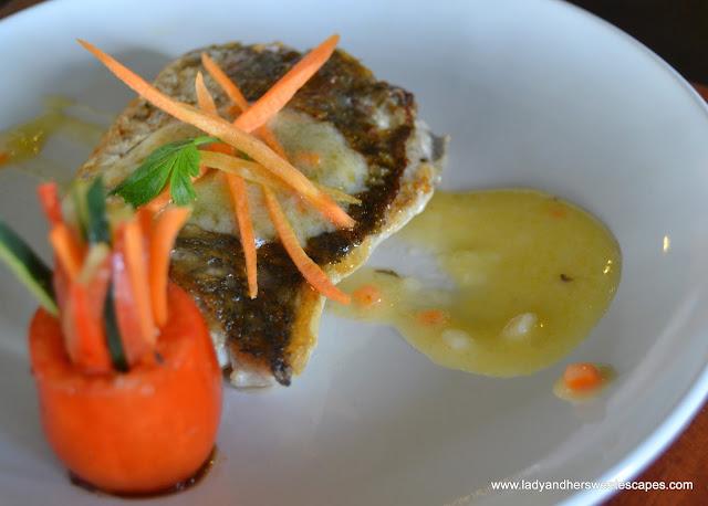 fish dish at Punong Gary's Place