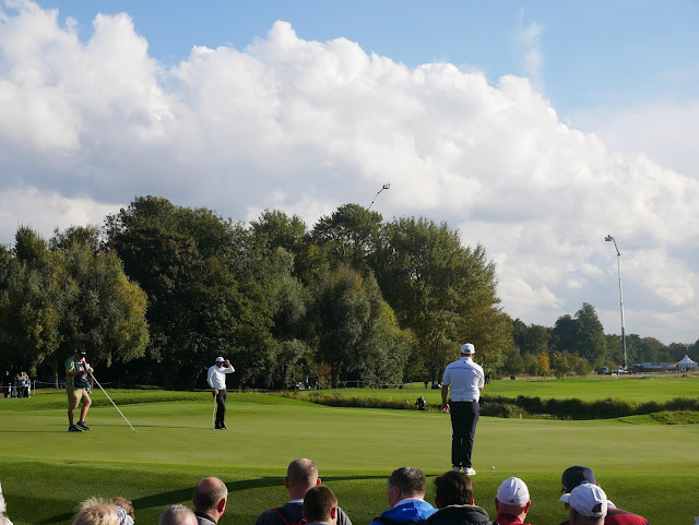 The sun was out for most of the day on Saturday at the 2016 British Masters