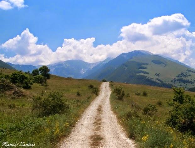 Raggiungendo la Valle dell'Orfento