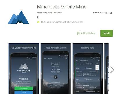 Cara Menggunakan Minergate Di Android